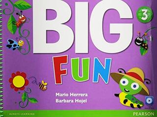 BIG FUN 3 STUDENTS BOOK (INCLUDE CD)