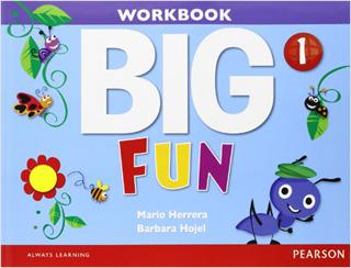 BIG FUN 1 WORKBOOK (INCLUDE AUDIO CD)