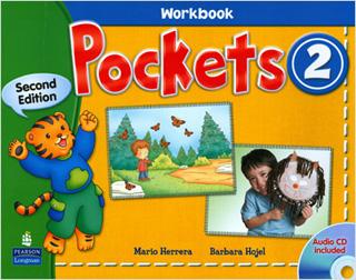 POCKETS 2 WORKBOOK (INCLUDE CD)
