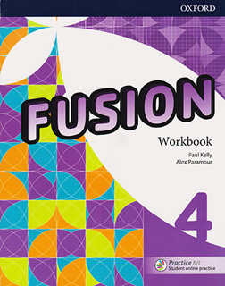 FUSION 4 WORKBOOK (INCLUDE PRACTICE KIT WITH...