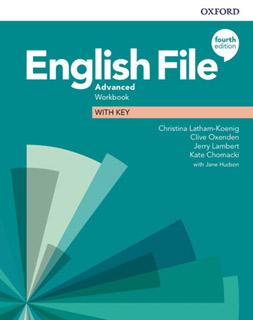 ENGLISH FILE ADVANCED WORKBOOK WITH KEY