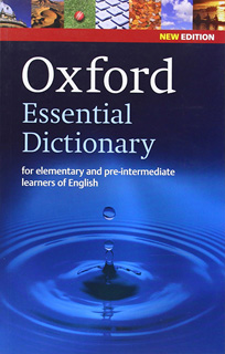 OXFORD ESSENTIAL DICTIONARY NEW EDITION (INCLUYE...