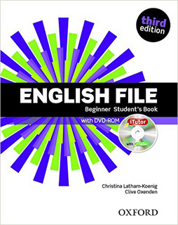 ENGLISH FILE BEGINNER STUDENTS BOOK (INCLUDE DVD)