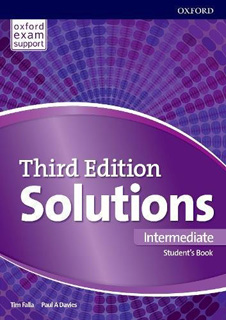 SOLUTIONS INTERMEDIATE STUDENTS BOOK & ONLINE...