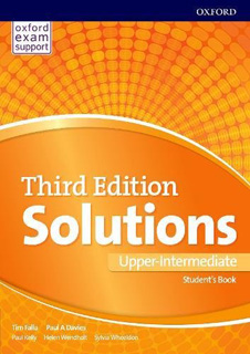 SOLUTIONS UPPER-INTERMEDIATE STUDENTS BOOK &...