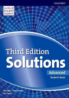SOLUTIONS ADVANCED STUDENTS BOOK & ONLINE...