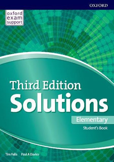 SOLUTIONS ELEMENTARY STUDENTS BOOK & ONLINE...