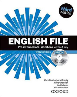 ENGLISH FILE PRE-INTERMEDIATE WORKBOOK WITHOUT...