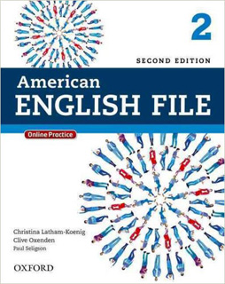 AMERICAN ENGLISH FILE 2 STUDENT BOOK INCLUDE...