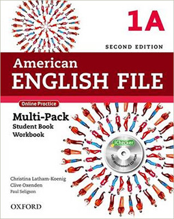 AMERICAN ENGLISH FILE 1A MULTIPACK STUDENT BOOK,...