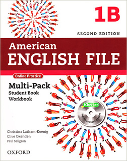 AMERICAN ENGLISH FILE 1B MULTIPACK STUDENT BOOK,...