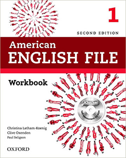 AMERICAN ENGLISH FILE 1 WORKBOOK (INCLUYE CD)