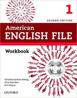 AMERICAN ENGLISH FILE 1 WORKBOOK (INCLUDE CD)