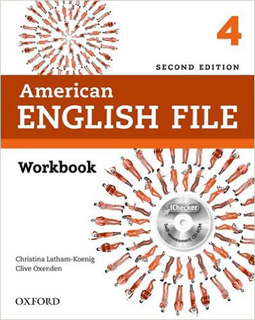 AMERICAN ENGLISH FILE 4 WORKBOOK INCLUDE CD