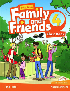 FAMILY AND FRIENDS 4 CLASS BOOK (INCLUDE MULTIROM)