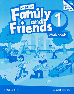 FAMILY AND FRIENDS 1 WORKBOOK WITH ONLINE PRACTICE