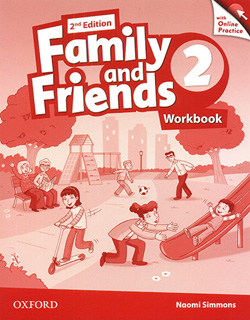 FAMILY AND FRIENDS 2 (AME) WORKBOOK WITH ONLINE...
