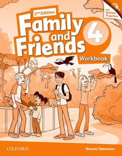FAMILY AND FRIENDS 4 WORKBOOK WITH ONLINE PRACTICE