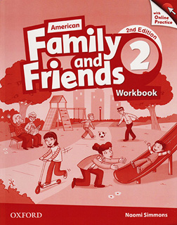 AMERICAN FAMILY AND FRIENDS 2 WORKBOOK (WITH...