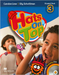 HATS ON TOP 3 STUDENTS BOOK (INCLUDE CD)