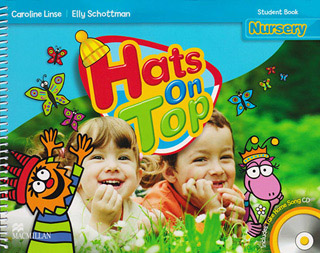 HATS ON TOP NURSERY STUDENT BOOK (INCLUDE CD)