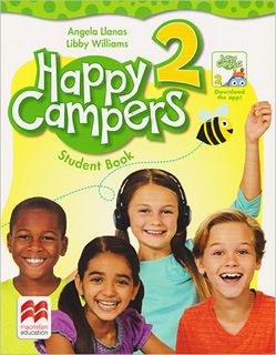 HAPPY CAMPERS 2 STUDENT BOOK WITH THE LANGUAGE...