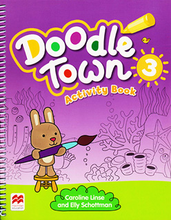 DOODLE TOWN 3 ACTIVITY BOOK