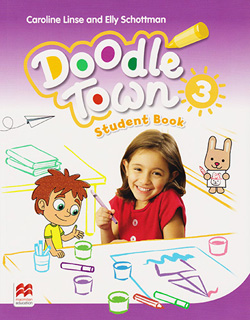 DOODLETOWN 3 PACK STUDENT BOOK (INCLUDE WEBCODE)