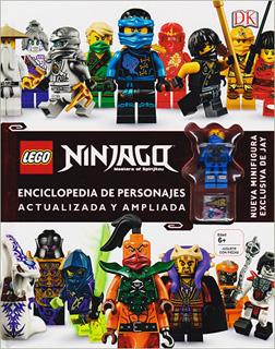 LEGO NINJAGO: ENCICLOPEDIA DE PERSONAJES