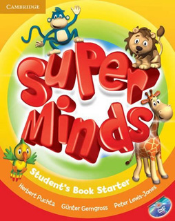 SUPER MINDS STARTER STUDENTS BOOK (INCLUDE DVD)