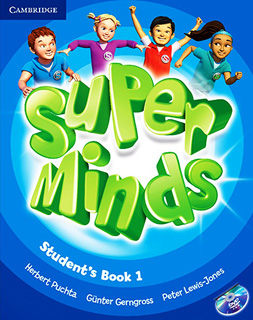 SUPER MINDS 1 STUDENTS BOOK (INCLUDE DVD)