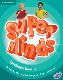 SUPER MINDS 3 STUDENTS BOOK (INCLUDE DVD)