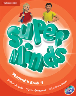 SUPER MINDS 4 STUDENTS BOOK (INCLUDE DVD)