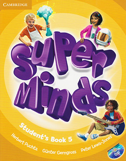 SUPER MINDS 5 STUDENTS BOOK (INCLUDE DVD)