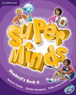 SUPER MINDS 6 STUDENTS BOOK (INCLUDE DVD)