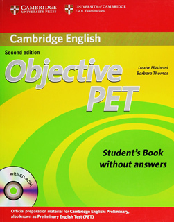 OBJECTIVE PET STUDENTS BOOK WITHOUT ANSWERS