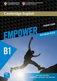 CAMBRIDGE ENGLISH EMPOWER B1 PRE-INTERMEDIATE...
