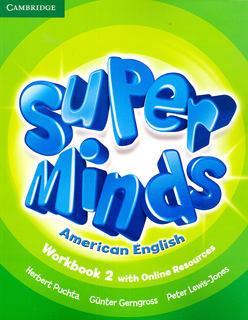 SUPER MINDS AMERICAN ENGLISH 2 WORKBOOK WITH...