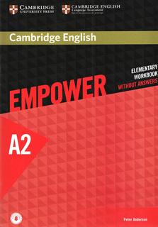 CAMBRIDGE ENGLISH EMPOWER A2 ELEMENTARY WORKBOOK...