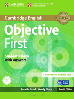 OBJECTIVE FIRST STUDENTS BOOK WITH ANSWERS...