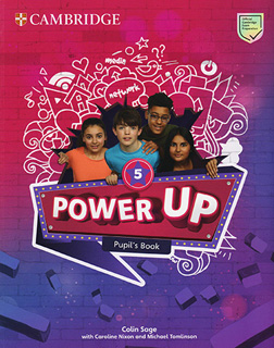 POWER UP 5 PUPILS BOOK