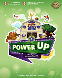 POWER UP 1 ACTIVITY BOOK WITH ONLINE RESOURCES...