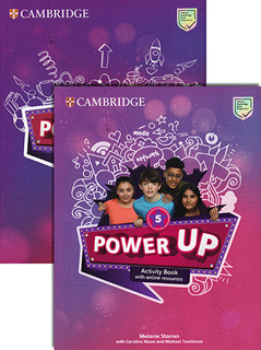 POWER UP 5 ACTIVITY BOOK WITH ONLINE RESOURCES...