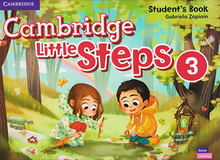 CAMBRIDGE LITTLE STEPS 3 STUDENTS BOOK