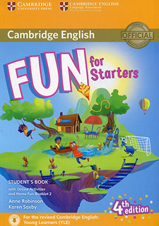 FUN FOR STARTERS STUDENTS BOOK WITH HOME FUN...
