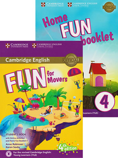 FUN FOR MOVERS 4 STUDENTS BOOK WITH ONLINE...