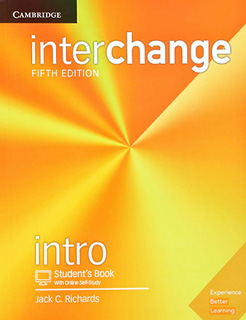 INTERCHANGE INTRO STUDENTS BOOK WITH ONLINE SELF STUDY