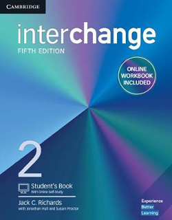 INTERCHANGE 2 STUDENTS BOOK WITH ONLINE SELF...
