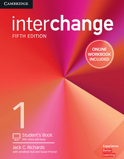 INTERCHANGE 1 STUDENTS BOOK WITH ONLINE SELF...