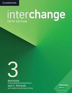 INTERCHANGE 3 WORKBOOK